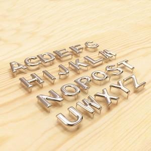 alphabet letters prong studs-3