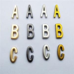 big size 18mm alphabet letter rivets 1