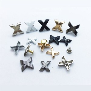 metal alphabet letters rivets in 4 colors and 3 size 1