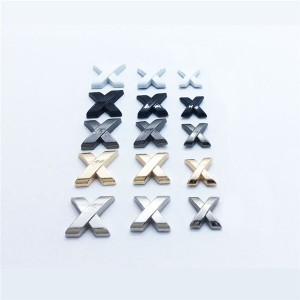 metal alphabet letters rivets in 4 colors and 3 size 2