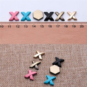 metal alphabet letters rivets in 4 colors and 3 size 3