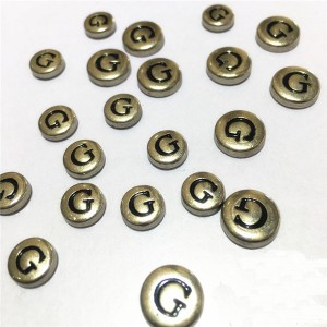 metal letter g rivets 2