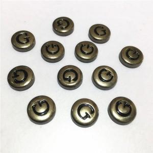 metal letter g rivets 4