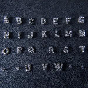 rhinestone alphabet letter rivets 1