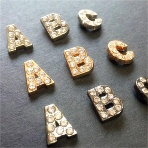 rhinestone alphabet letter rivets 5