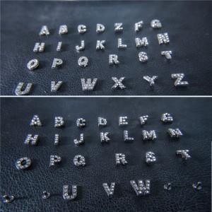 rhinestone alphabet letter rivets 7