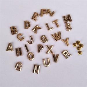 rose gold letter rivets 3