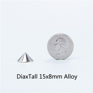 D1515 Cone Screw Spikes 15x8mm 100pcs/bag
