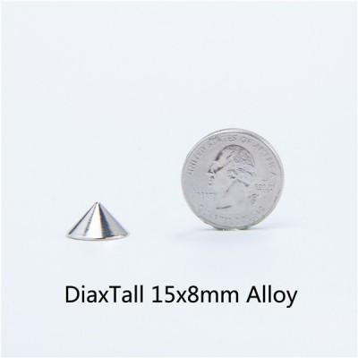 D1515 Cone Screw Spikes 15x8mm 100pcs/bag