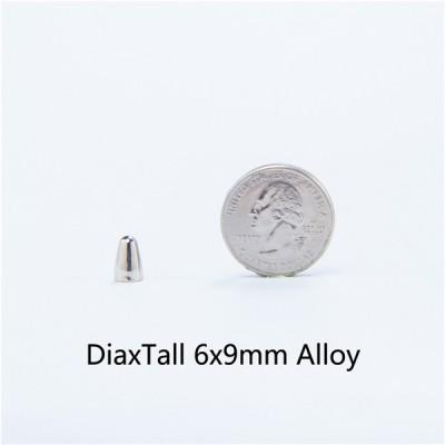 D69-H045 9mm Brass Bullet 6x9mm 100pcs/bag