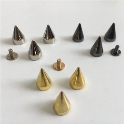 H008 Cone Screw Spikes 10x15mm 100pcs/bag