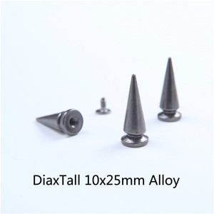 H016 Tree Screw Spikes 10x25mm 100pcs/bag