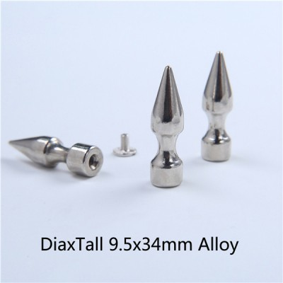 H049 Tree Screw Spikes 9.5x34mm 100pcs/bag