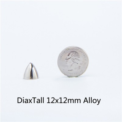 H050 Cone Screw Spikes 12x12mm 100pcs/bag