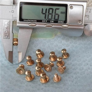 H080508 Nipple&Monk Head Spikes 8x5x8mm  100pcs/bag