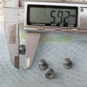 H080607 Wholesale Nipple&Monk Head Spikes 8x6x7mm  100pcs/bag