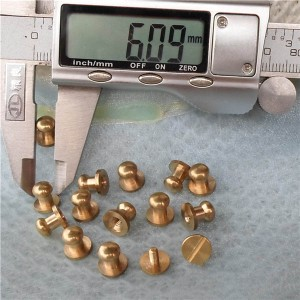 H080608 Custom Nipple&Monk Head Spikes 8x6x8mm 100pcs/bag