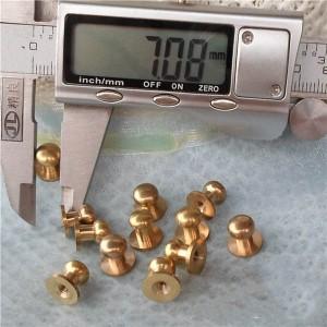 H090709 Nipple&Monk head screw spikes 9x7x9mm 100pcs/bag
