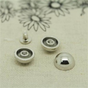 NO1206 Custom Dome&Mushrooms Spikes 12x6mm   100pcs/bag