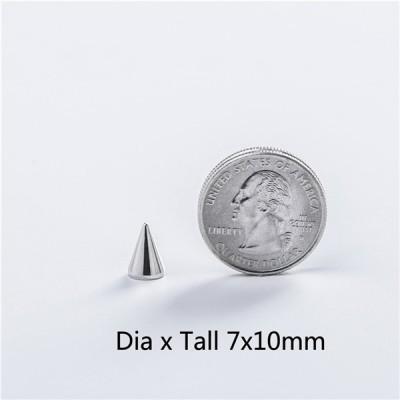 NO13 Cone Screw Spikes 7x10mm 100pcs/bag
