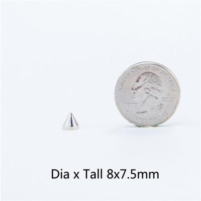 NO18 Cone Screw Spikes 8x7.5mm 100pcs/bag