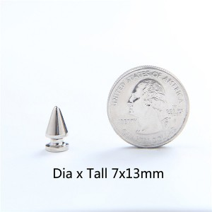 NO21 Tree Screw Spikes 7x13mm 100pcs/bag