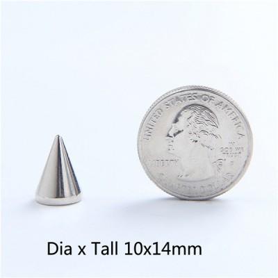 NO32 Cone Spike Studs 10x14mm  100pcs/bag