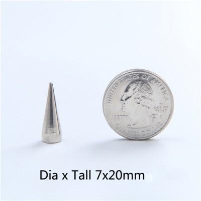 NO43 Cone Screw Spikes 7x20mm 100pcs/bag