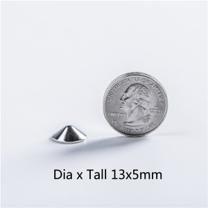 X1305 Cone Screw Spikes 13x5mm 100pcs/bag
