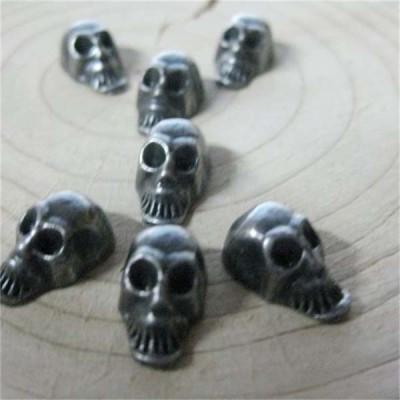 D002 Skull Alloy Rivets 8mm 100pcs/bag