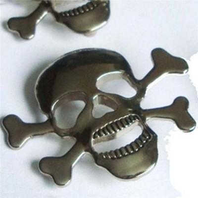D0029 Skull Alloy Rivets 29x40mm 100pcs/bag
