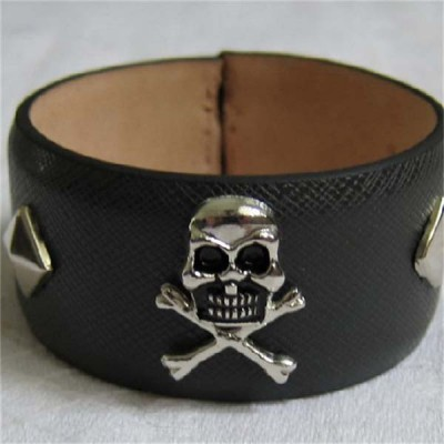 D004 Skull Alloy Rivets 15x25mm 100pcs/bag