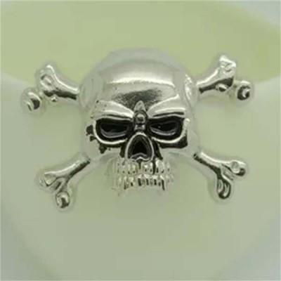 D006 Skull Alloy Rivets 40x30mm 100pcs/bag