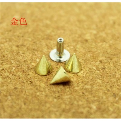 D0707 Cone Alloy Rivets 7x7mm 100pcs/bag