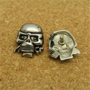 D1819 Skull Alloy Rivets 18x19 100pcs/bag