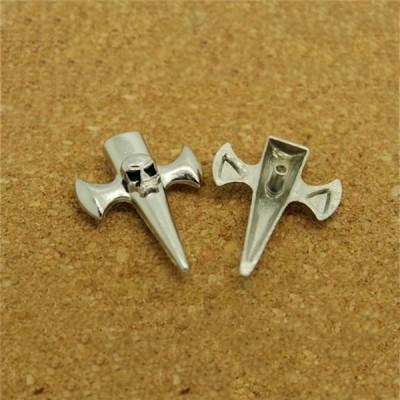 D3025 Skull Alloy Rivets 30x25mm 100pcs/bag