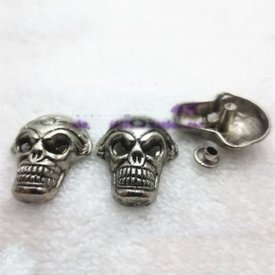 J2125 Skull Alloy Rivets 21x25mm 100pcs/bag