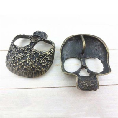 J3340 Skull Alloy Rivets 33x40mm 100pcs/bag