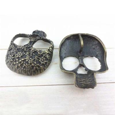 J3340 Skull Alloy Rivets 33x40mm 100pcs/bag