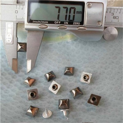 K031 Pyramid Mongolian Yurt Alloy Rivets 8mm 100pcs/bag