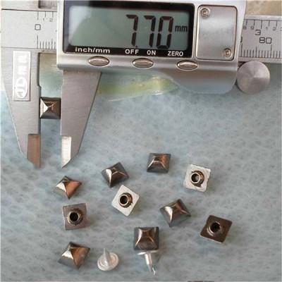 K031 Pyramid Mongolian Yurt Alloy Rivets 8mm 100pcs/bag