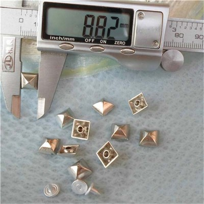 K034 Pyramid Mongolian Yurt Alloy Rivets 9mm 100pcs/bag