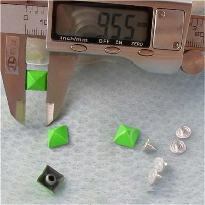 K035 Pyramid Mongolian Yurt Alloy Rivets 9.6mm 100pcs/bag