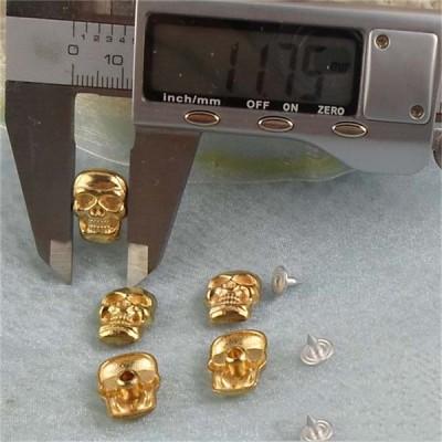 K072 Skull Head Rivets 16x12mm 100pcs/bag