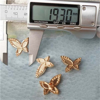 K108 Butterfly Alloy Rivets 17x19mm 100pcs/bag