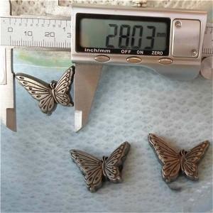 K109 Butterfly Alloy Rivets 22x28mm 100pcs/bag