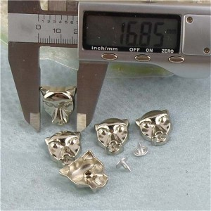 K116 Dog Alloy Rivets 17x19mm 100pcs/bag