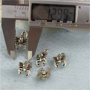 K119 Scorpion Alloy Rivets 21x13mm 100pcs/bag