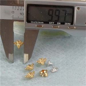 K136 Bee Alloy Rivets 8x10mm 100pcs/bag