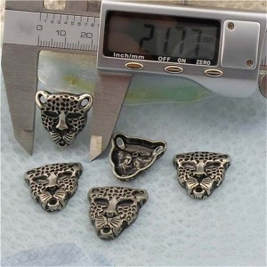 K160-1 Leopard Alloy Rivets 22x22mm 100pcs/bag